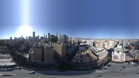20K Aerial HDRI Downtown LA