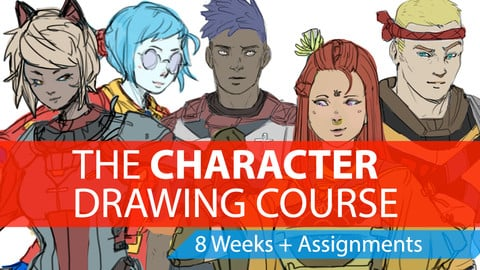 The Character Drawing Course