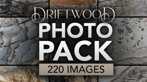 Driftwood Photo Pack by Jeff Miracola
