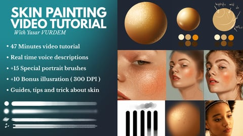Skin Painting in Photoshop Video Tutorial