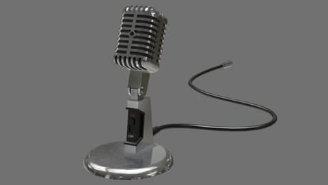 Retro Microphone 2A