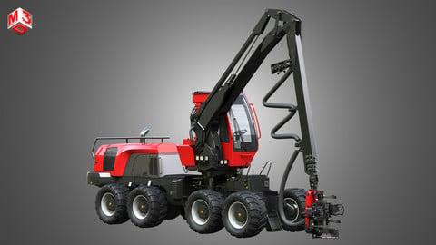 Komatsu Forestry Machine 3D model