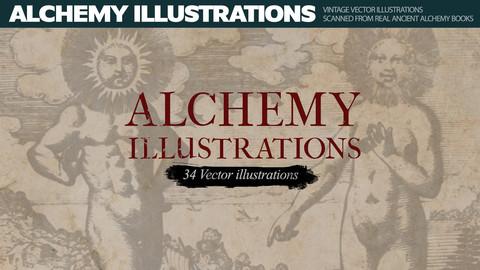 Alchemy Illustrations