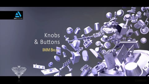 Knobs and Buttons IMM Brush