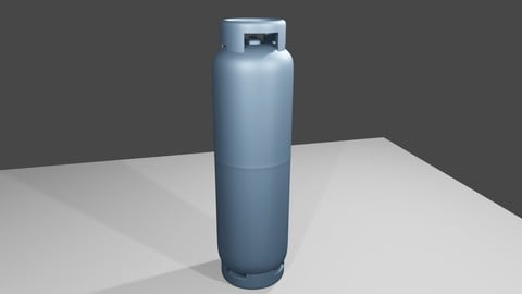 Gas Cylinder - Canister - Botijao P45 3D model