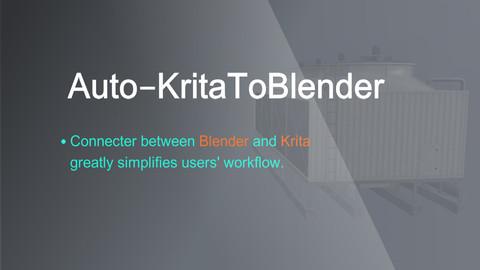 Auto Krita To Blender