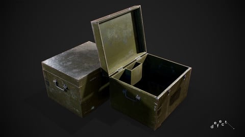 Military Supply Crate V5