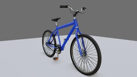 Bicycle - Mountain Bike - Bicicleta 3D model