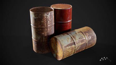 Rusty Barrel V3
