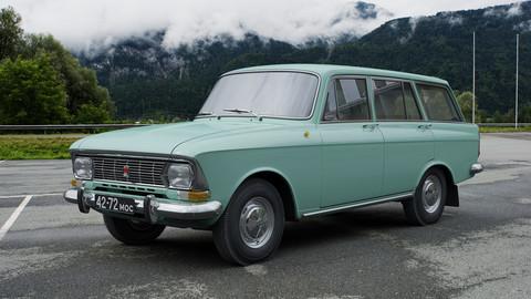 AZLK Moskvitch-427 1972