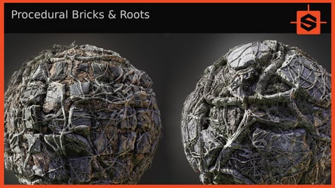 Procedural Bricks & Roots