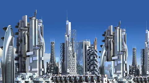 Futuristic City Pack 1.