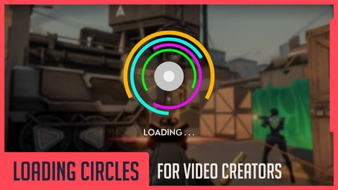 Loading Circles for Video Creators