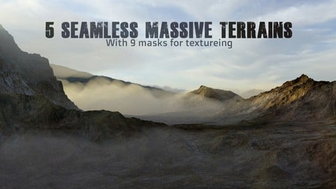 5 Seamless large scale Terrains