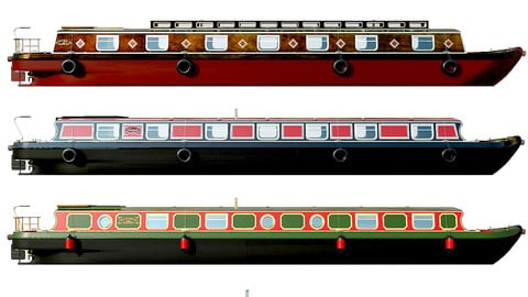 English Canal Boats collection