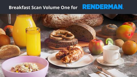 Breakfast Scan Volume One for Renderman