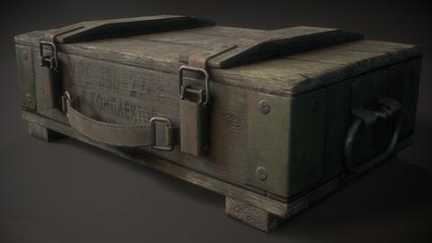 Millitary granage box