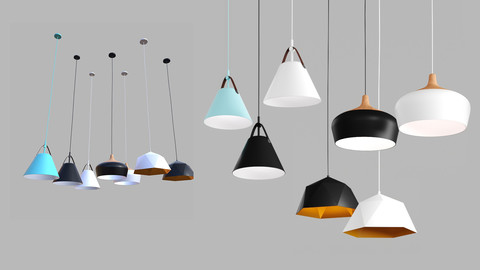 Nordic pendant light collection