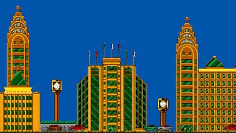 Art-deco City Tile-set for Unity