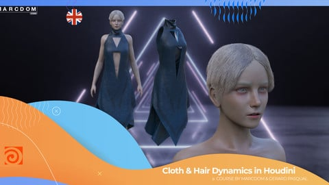 Houdini Cloth & Hair dynamics ENG