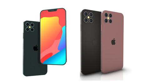 iPhone 12 Pro Element 3D & C4D