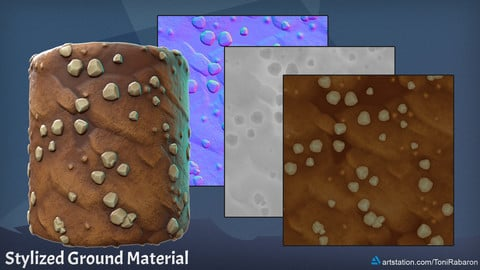 Stylized Ground Material