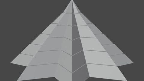 Pyramidal Structure 8 Corners Little Interstices