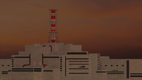 Chernobyl Nuclear Power Plant 3D model