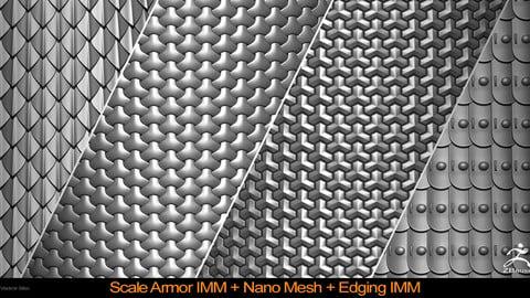 Scale Armor IMM Nano Mesh + Edging IMM