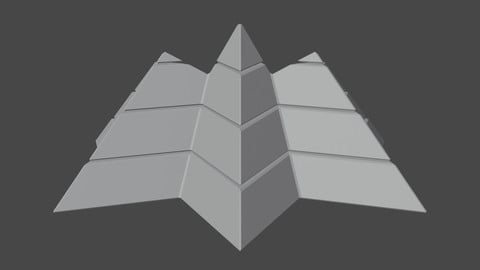 Futuristic Pyramidal Build