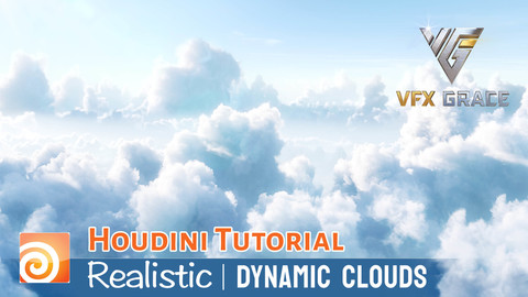 houdini tutorial realistic dynamic clouds
