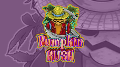 PumpkinKUSH LABELS set.