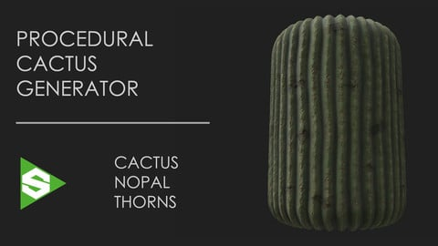 Procedural Cactus Generator