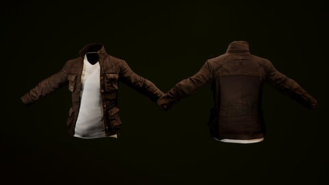 2 game ready jackets (female and male) 4 variants each