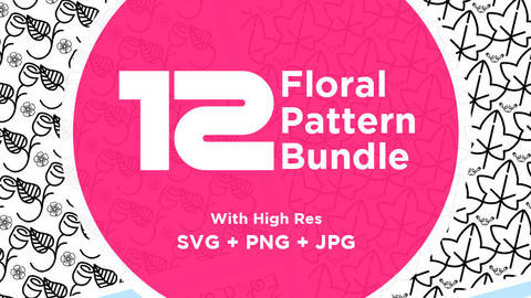 High Definition Floral Bundle Pattern