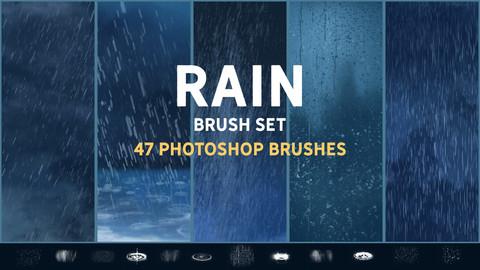 Rain brush set
