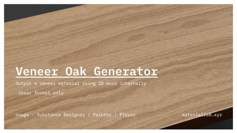 Veneer Oak generator