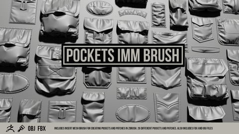 ZBrush Pocket IMM Brush