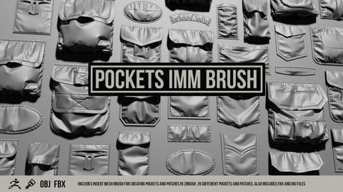 ZBrush Pocket IMM Brush