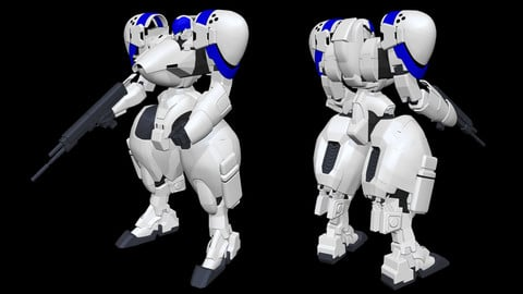 Power Loader X-4+(PD-802) Armored Infantry [Power Dolls]