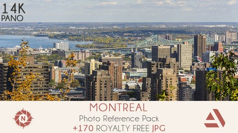 Photo Reference Pack: Montreal