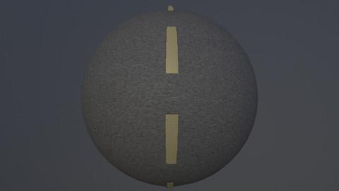 Road pbr texture