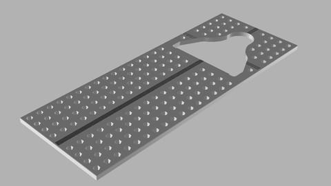 Pedal Cleat Tool For Shimano SPD SL 3D print model 3D print model