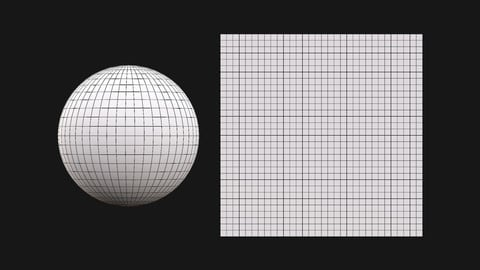 Simple Sphere & Plane