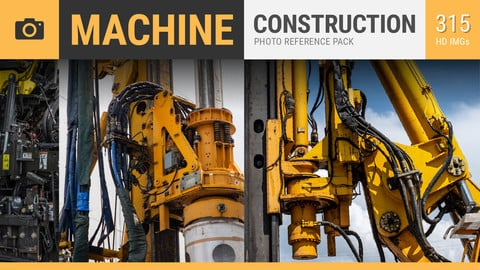 MACHINE Construction Photo Reference Pack