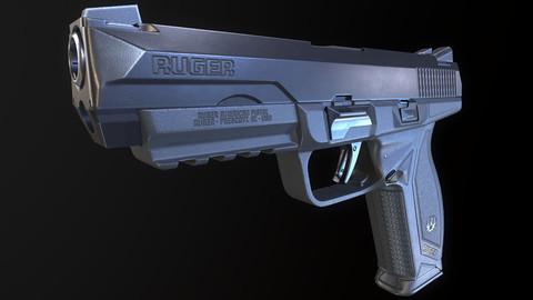 Ruger American Pistol Duty 45 acp