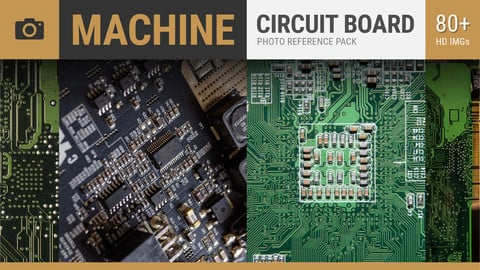 CIRCUIT BOARD Reference Texture Pack