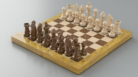 CHESS GAME-READY MODEL