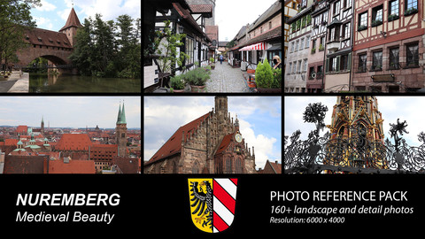 Nuremberg  - German Medieval City Reference Pack