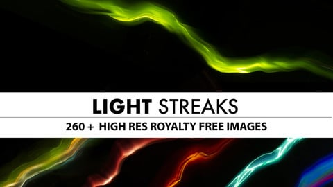 Light Streaks and Energy Lines